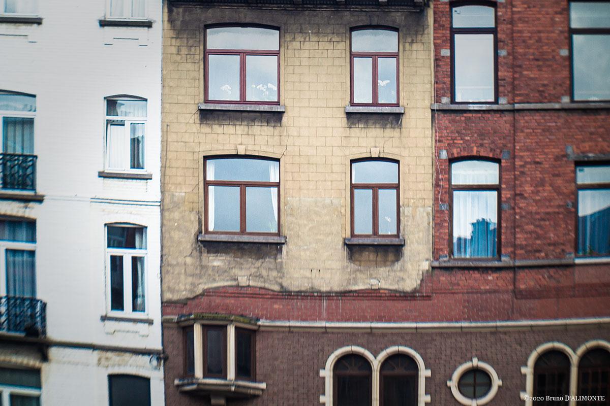 Photographie du désordre urbain à Bruxelles © 2014 Bruno D'ALIMONTE