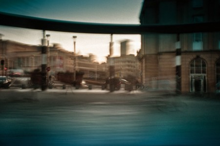 photographie en mouvement de Bruxelles