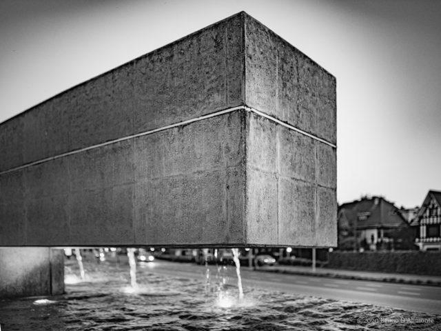 photographie de la collection brussels'eyes qui représente Rivages, une  réalisation architecturale que l'on doit à Sophie Mersch et Marianne Pouplier © Bruno D'Alimonte
