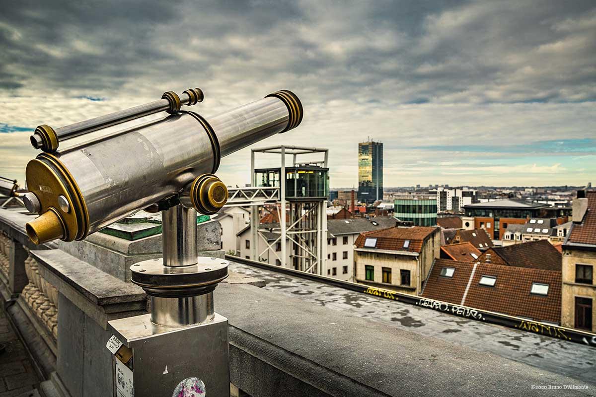 Panorama sur Bruxelles pour illustration de mises en perspectives © novembre 2020 Bruno D'Alimonte