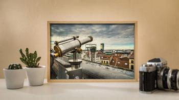 Perspectives, artefact de Brussels Eyes - objet à vendre
