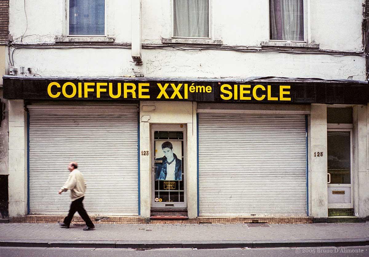 Coiffure du XXIème siècle à Bruxelles