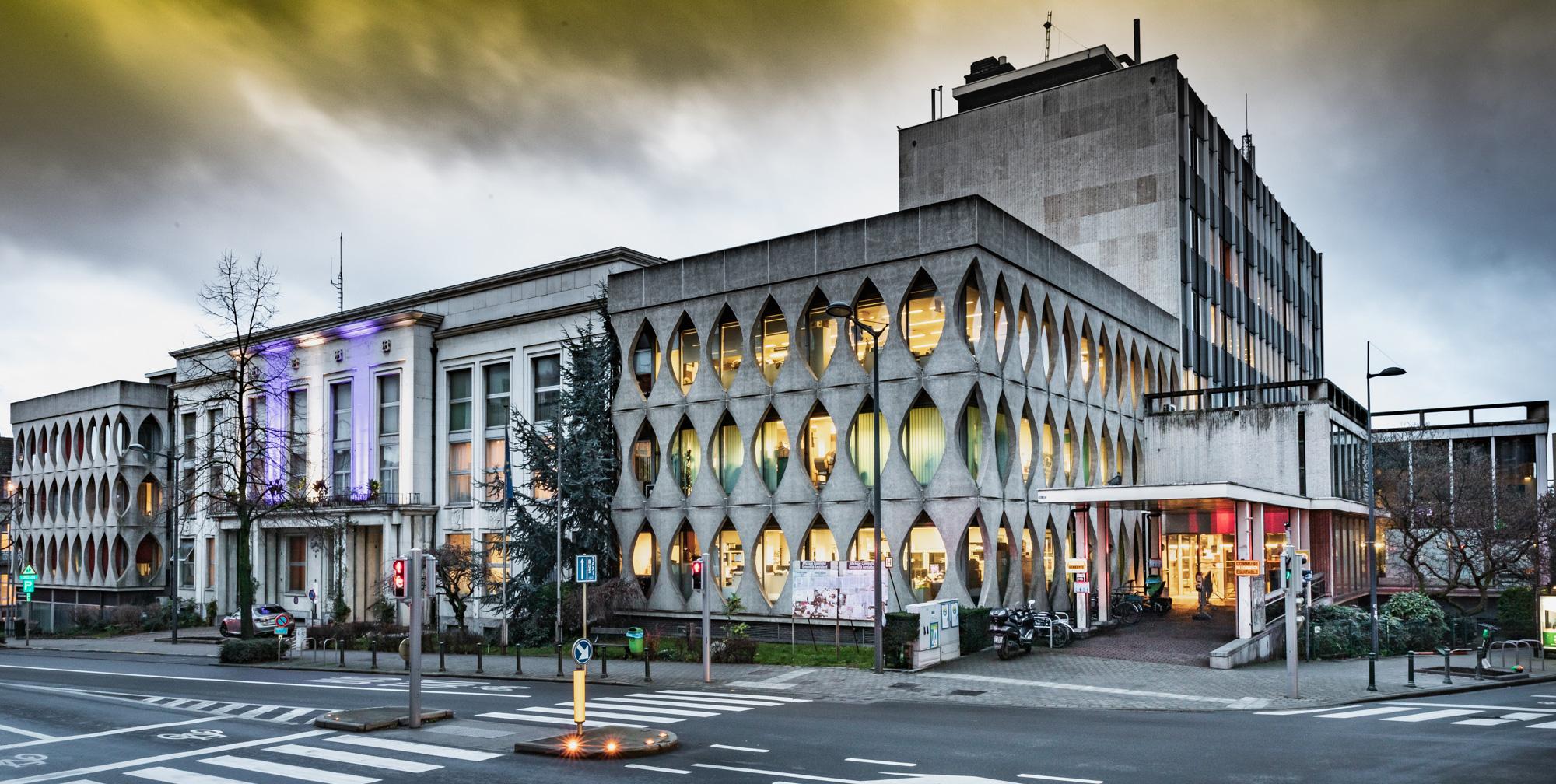 Hotel Communal de Etterbeek Avenue d'Auderghem par Bruno D'Alimonte