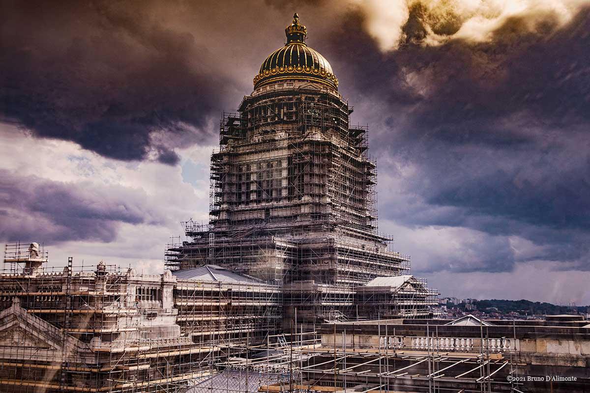 Palais de Justice de Bruxelles © Juillet 2021 Bruno D'ALIMONTE
